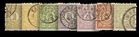 Nederland 1884 - Nr. PW1-PW7 - gebruikt