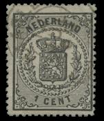 Netherlands 1869-1871 - NVPH 14 - Cancelled