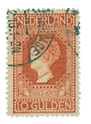 Netherlands 1913 - NVPH 101 - Cancelled