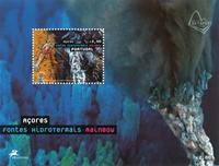 Azorerne - Varme kilder - Postfrisk miniark