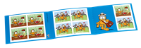 Switzerland - Garfield - Mint stamp booklet