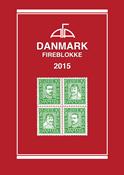 AFA Denmark block of 4 catalog 2015