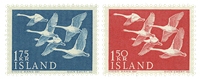 Iceland- Swans - 1956 - Mint