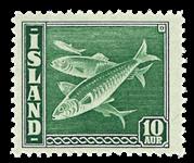 Island 1940 - Fisk AFA 216 Postfrisk