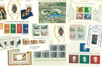 Western Germany 16 mint souvenir sheets