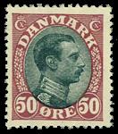 Danmark 1918 - AFA nr. 106 - postfrisk