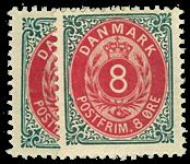 Danmark - 1895 - AFA nr. 25B,By - ubrugt