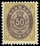 Danmark - 1895 - AFA nr. 30By - ubrugt