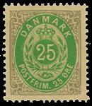 Danmark - 1875 - AFA nr. 29 - ubrugt