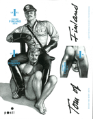Finland - Tom of Finland - Homoerotic stamps - Mint souvenir sheet