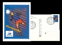Frankrig - Officiel helsag fra VM i foldbold - 10 stk.