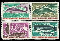Saint Pierre and Miquelon 1969 - YT 391-94