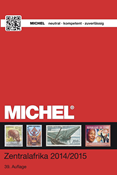 Michel stamp catalogue - Central Africa - 2014