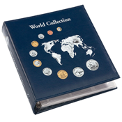 Classic Coin Album - World Collection - Blue from Lighthouse / Leuchtturm