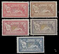 France - YT 119-123 - Unused