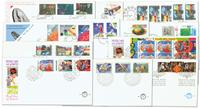 Holland - årgang 1991 - Førstedagskuverter komplet