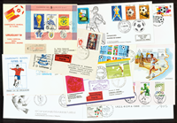 Rare football envelopes 16 pcs.