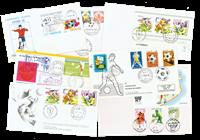Rare football envelopes 7 pcs.