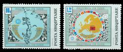Albanien 1992 2493-94 Den Europæiske Sikkerheds- og Samarbejdskonference. 2