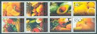 Nederlandske Antiller - Frugt og grønt - Postfrisk sæt 8v