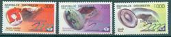 Indonesien - Ædelsten - Postfrisk sæt 3v