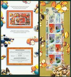 Indonesien - Overtryk Indonesia '00 - Postfrisk souvenirsæt