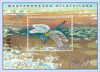 Hungary - Insects - Mint souvenir sheet