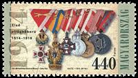 Ungarn - Første verdenskrig - Postfrisk frimærke