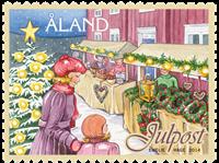 Åland - Jul 2014 - Postfrisk frimærke