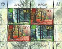 Bosnia and Herzegovina - Europa 2011 - Mint souvenir sheet