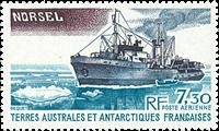 Fransk Antarktis - TAAF PA64 Bateaux Sujets divers  1980 - postfrisk