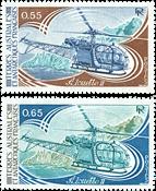 TAAF - YT 92-93 Aviation 1981 - Mint