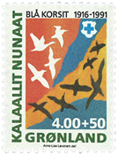 Greenland - Blue Cross - Mint