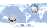 Greenland - Pole-to-Pole S/S * - Mint stamp