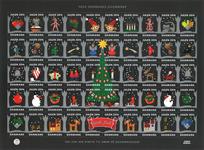 Danmark - Julemærket 2014 - Postfrisk selvklæbende ark