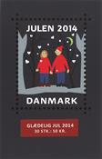 Danmark - Julemærket 2014 - Postfrisk frimærkehæfte m. 30 mærker