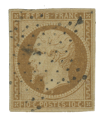 France 1852 - YT 9 - Cancelled