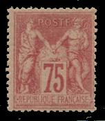 France 1876 - YT 81 - Unused
