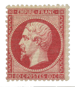 France 1862 - YT 24 - Unused