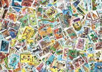400 francobolli differenti Disney