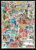 1000 francobolli differenti Europa Occidentale