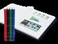 Classificatore - colori assortiti - A4 - 32 pagine  bianche