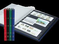 Indstiksbog - assorterede farver - Str. A4 - 32 sorte sider