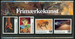 Danmark - Frimærkekunst. Souvenirmappe