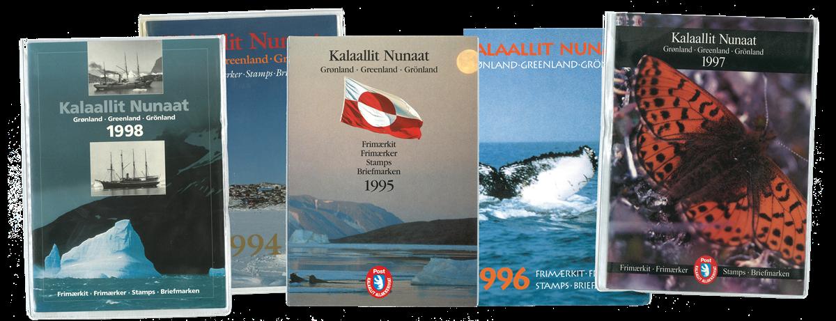Grønland - Årsmapper 1994-98