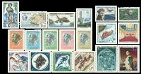 Monaco 1962-73 - Luftpost postfrisk - YT PA79/96