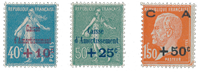 France 1927 - YT 246-48 - Unused