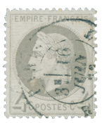 France 1863 - YT 27 - Cancelled