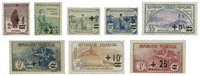 France 1922 - YT 162-69 - Unused