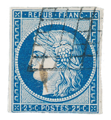 France 1849 - YT 4a - Cancelled